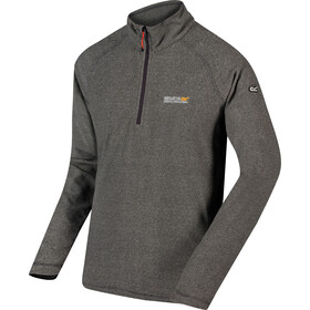 Regatta Montes Fleece LS Top Men, light steel